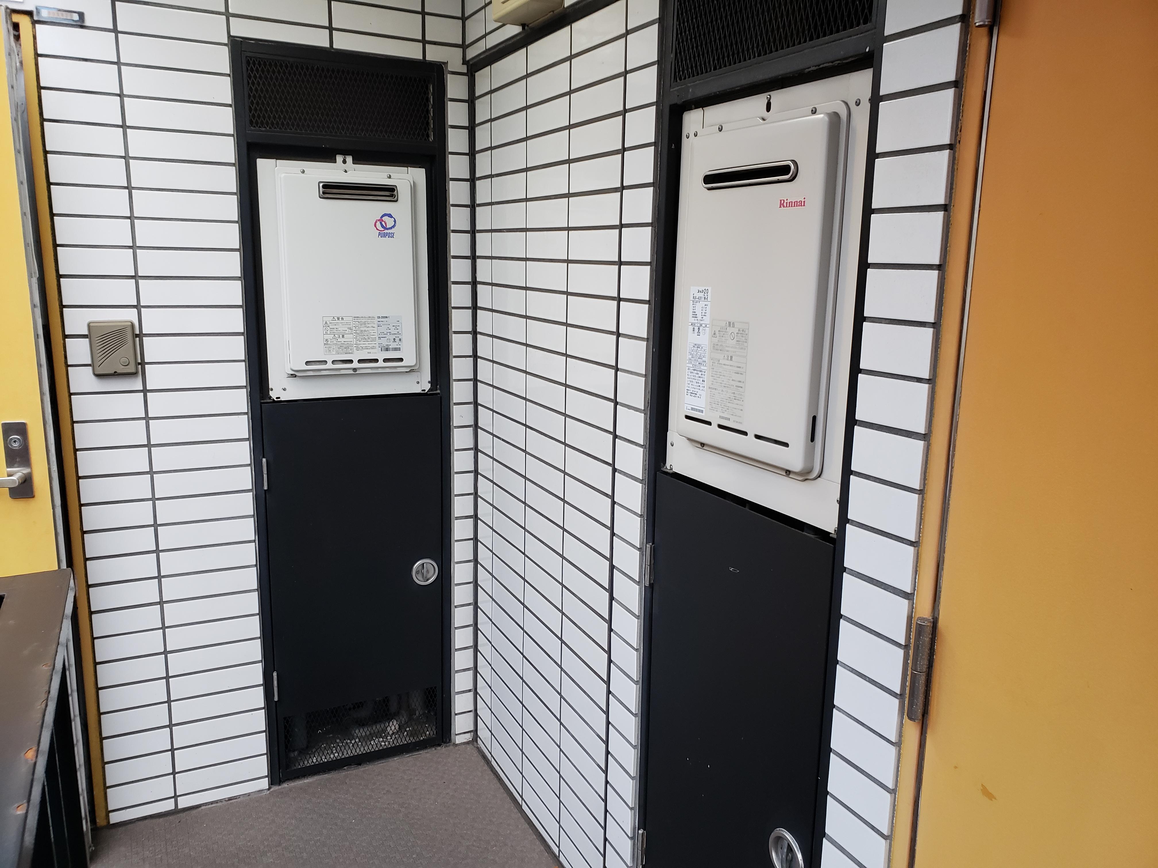 給湯器の設置場所によって施工料金がかわる?